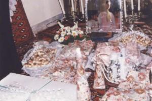 مراسم شب یلدای تازه عروسا