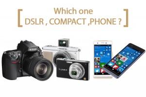 گوشی، کامپکت یا DSLR؛ کدوم برای عکاسی مناسبه؟