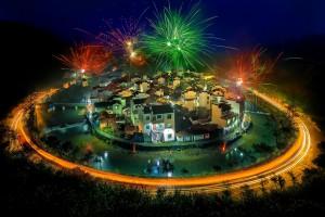 عکس روز نشنال جئوگرافیک؛ جشن نورهای شبانه