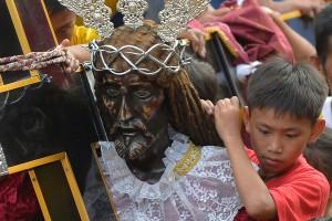 جشنواره مذهبی 'بلک نزارین' در فیلیپین