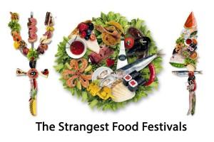 عجیب ترین جشنواره های غذایی